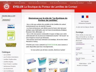 lentilles de vue eyelux
