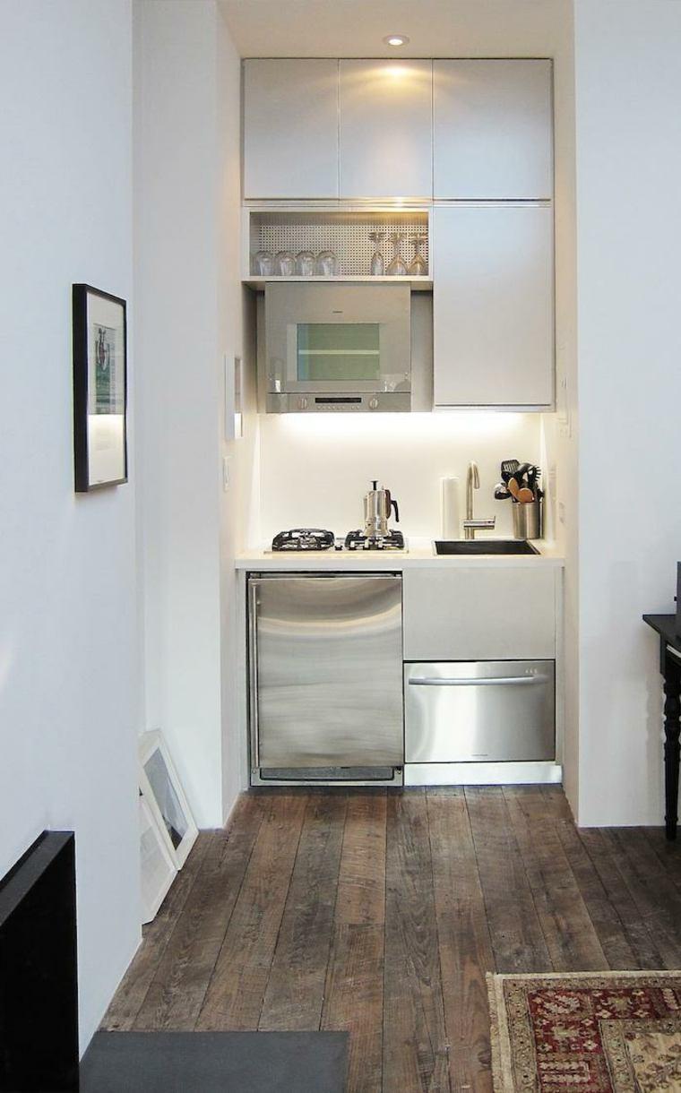 Astuces de rangement de cuisine d\'un studio